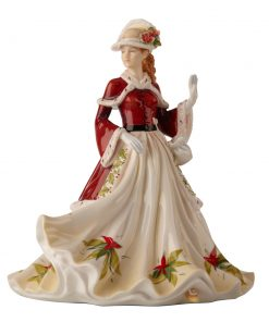 Season's Greetings - English Ladies Company Figurine