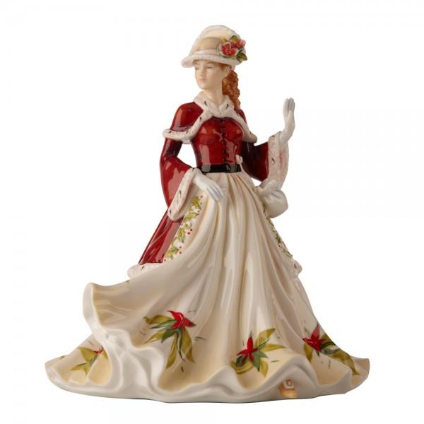 Season's Greetings - English Ladies Company Figurine