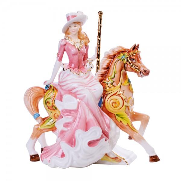 Summer Carousel - English Ladies Company Figurine