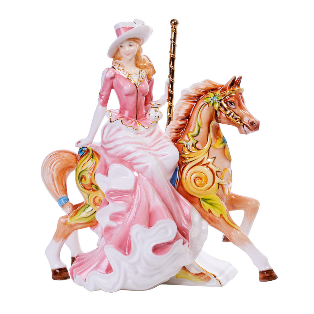 Summer Carousel - English Ladies Company Figurine