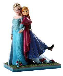 "Anna and Elsa - ""Sisters Forever"" (Frozen) - Jim Shore Figures"