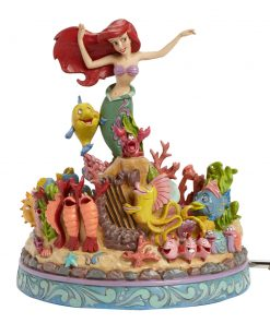 "Ariel Little Mermaid Musical - ""Under the Sea"" (Little Mermaid) - Jim Shore Figures"