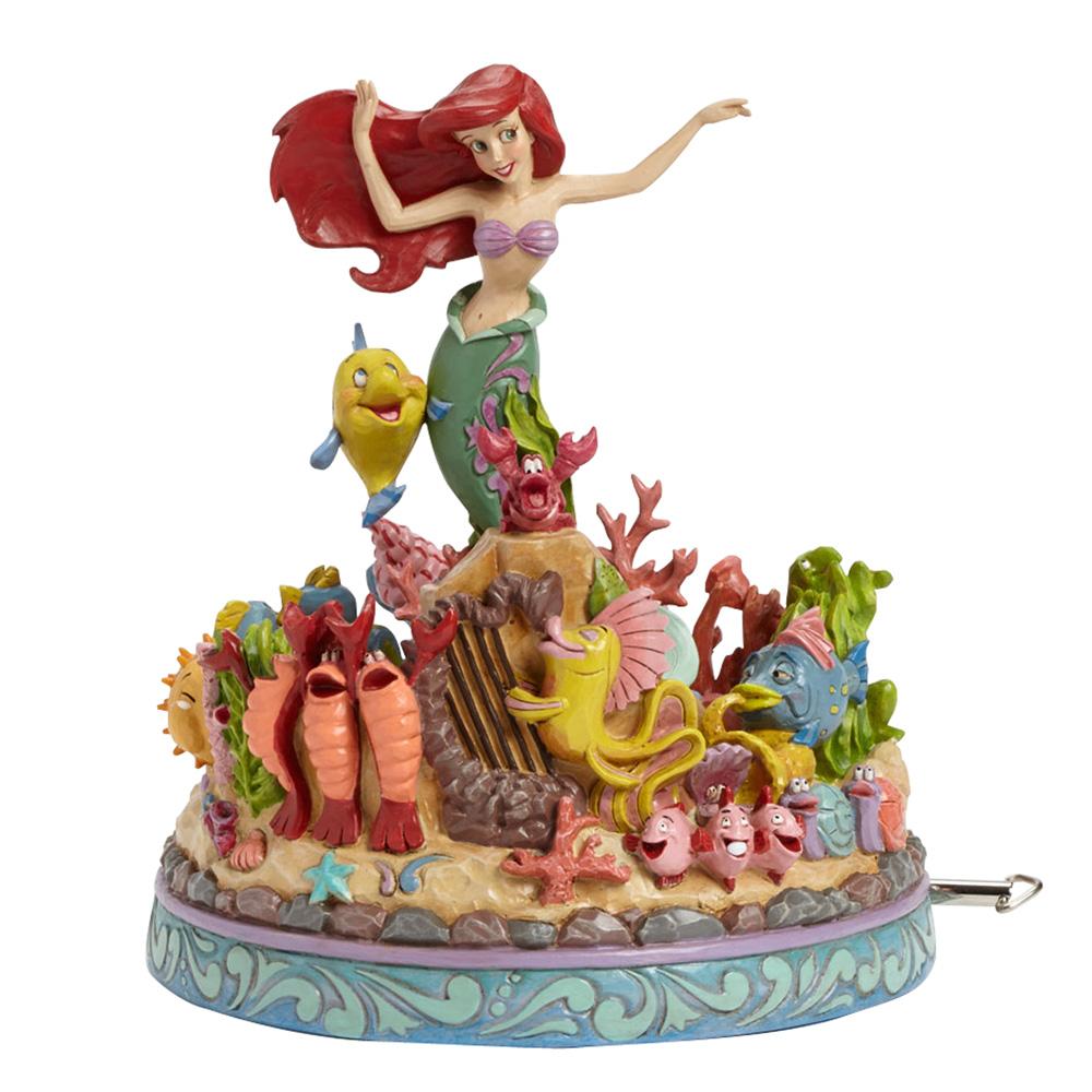 "Ariel Little Mermaid Musical - ""Under the Sea"" (Little Mermaid) - Jim Shore Figures"