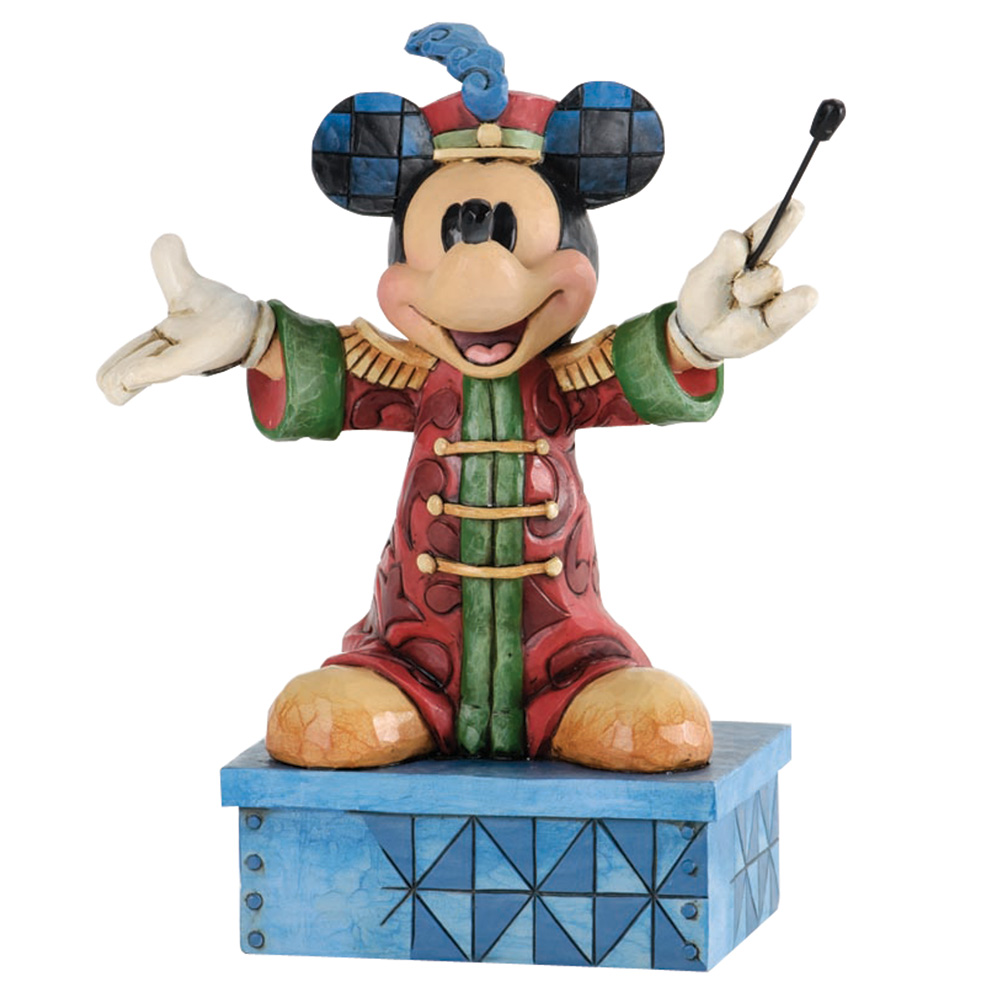 "Band Leader Mickey Mouse - ""The Band Concert"" - Jim Shore Figures"