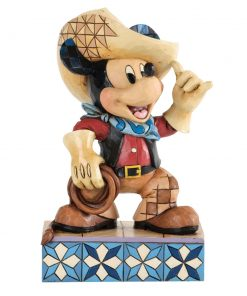 "Cowboy Mickey Mouse - ""Roundup Mickey"" - Jim Shore Figures"