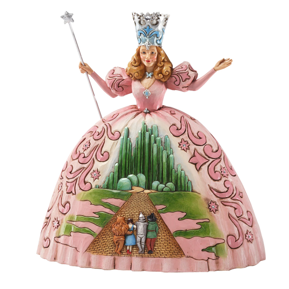 "Glinda - ""There's No Place Like Home"" - Jim Shore Figures"