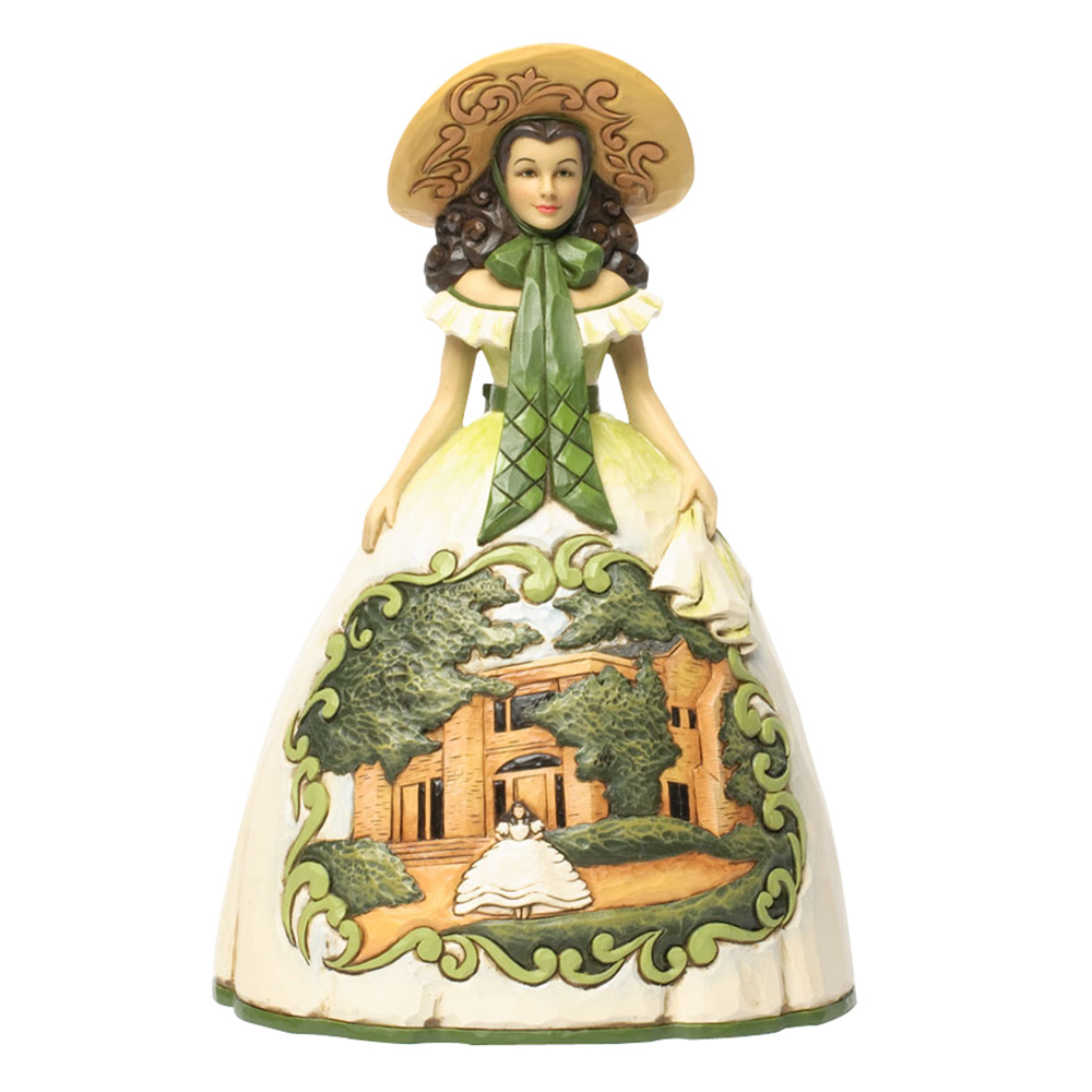 "Scarlett O'Hara in BBQ Dress - ""Tomorrow is another day"" - Jim Shore Figures"