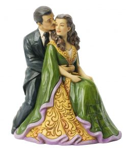 "Scarlett O'Hara and Rhett Butler ""Kindred Spirits"" - Jim Shore Figures"