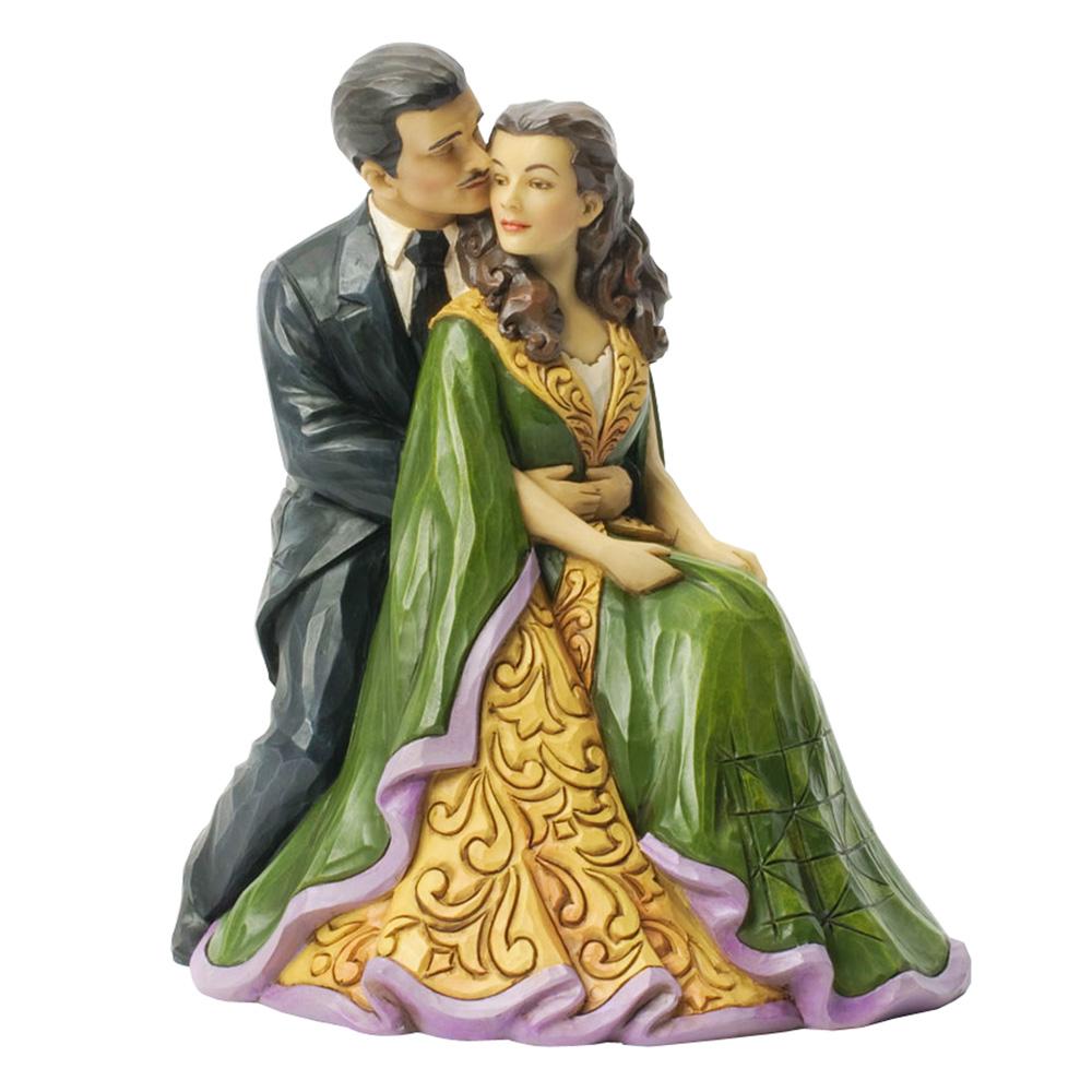 """Scarlett O'Hara and Rhett Butler """"Kindred Spirits"""" - Jim Shore Figures"""