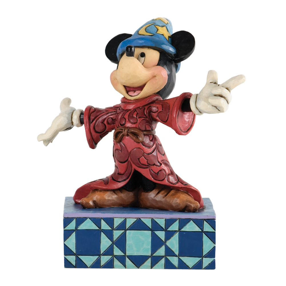 "Sorcerer Mickey Mouse - ""Sorcerer's Apprentice"" - Jim Shore Figures"