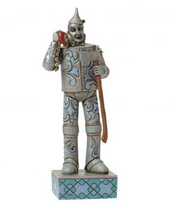 "Tin Man with Heart Clock - ""If I Only Had a Heart"" - Jim Shore Figures"
