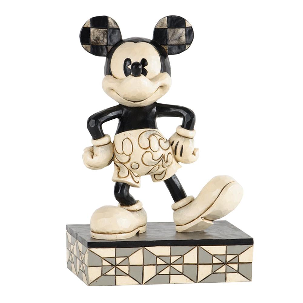 """Vintage Mickey Mouse - """"Plane Crazy"""" - Jim Shore Figures"""