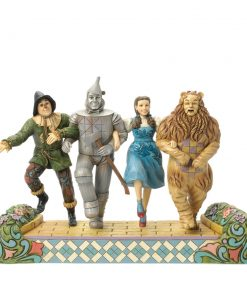 "Wizard of Oz 75th Anniversary Tribute Figure - ""We're off to see the wizard"" - Jim Shore Figures"