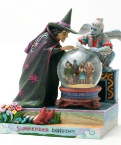 "Wizard of Oz Waterball ""Surrender Dorothy"" - Jim Shore Figures"