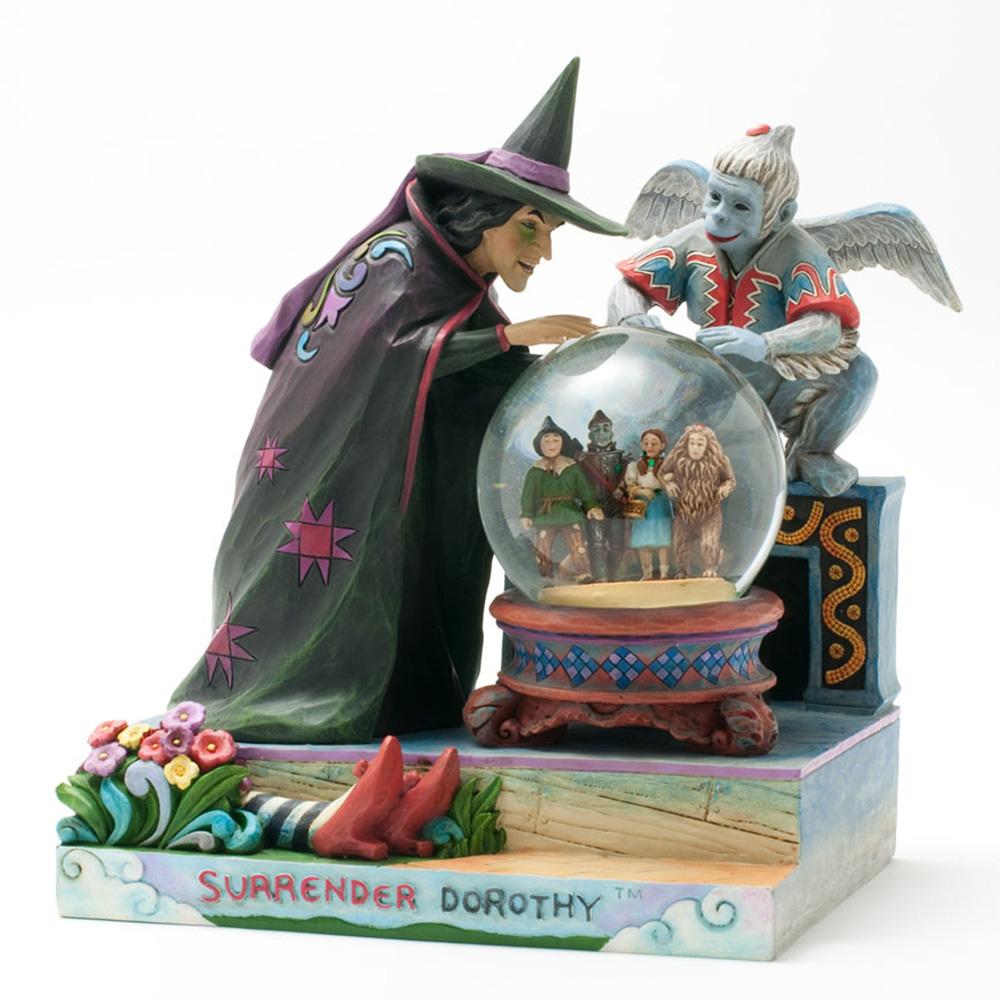 "Wizard of Oz Waterball ""Surrender Dorothy"" - Jim Shore Figures"