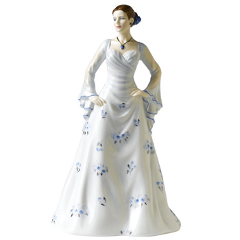 25th Anniversary (Silver) HN5152 - Royal Doulton Figurine