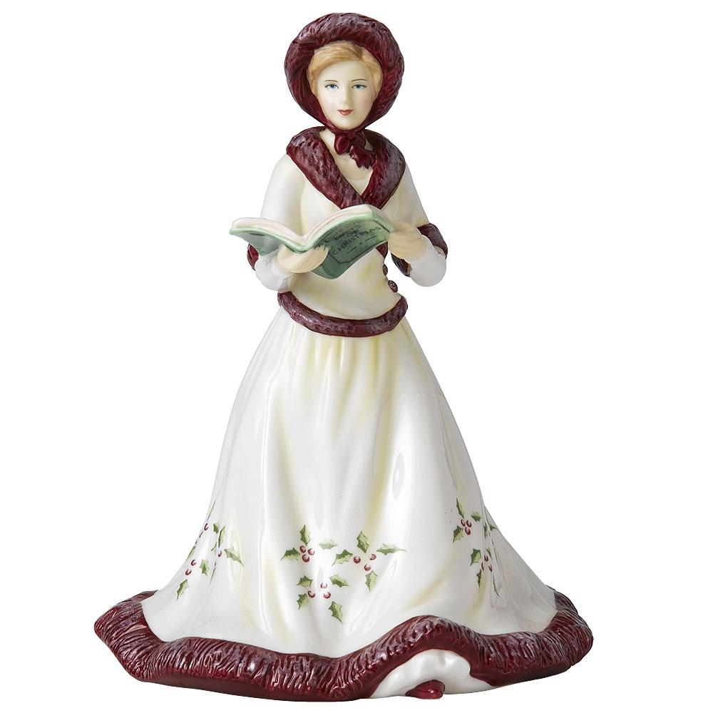 8th Day of Christmas HN5409 - Royal Doulton Figurine