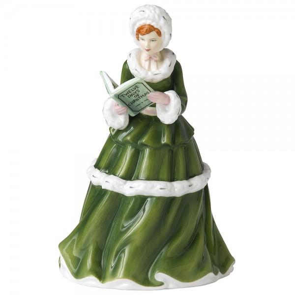 9th Day of Christmas HN5410 - Royal Doulton Figurine