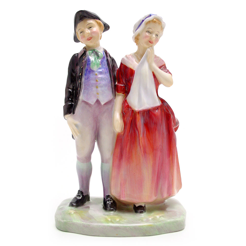 A Courting HN2004 - Royal Doulton Figurine