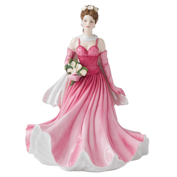 A Perfect Gift HN5553 - Royal Doulton Figurine - Sentiments Collection
