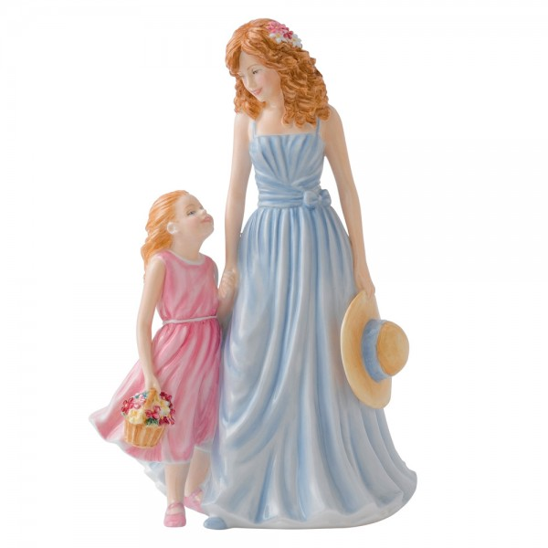 A Tender Love HN5544 - 2012 Royal Doulton Mother's Day - Figure of the Year 1