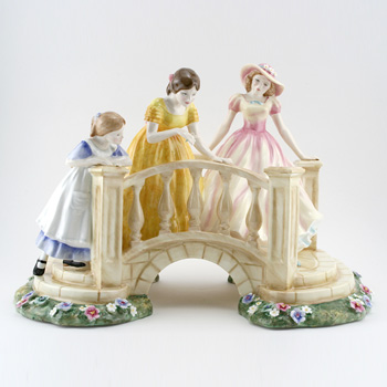 Afternoon Stroll HN4957 - Royal Doulton Figurine
