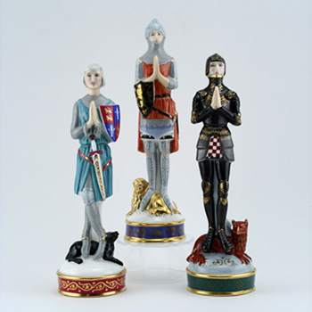 Age of Chivalry 3pc Set - Royal Doulton Figurine