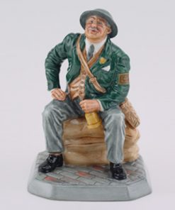 Air Raid Precaution Warden HN4555 - Royal Doulton Figurine