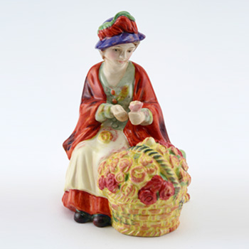 All A Blooming HN4936 - Royal Doulton Figurine