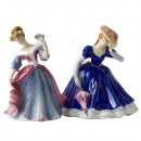 Amy M249 and Mary M250 - Royal Doulton Figurine