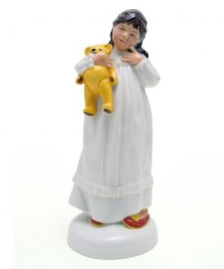 And So To Bed HN2966 - Royal Doulton Figurine