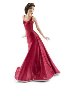 Annabel Vision in Red HN4493 (Factory Sample) - Royal Doulton Figurine