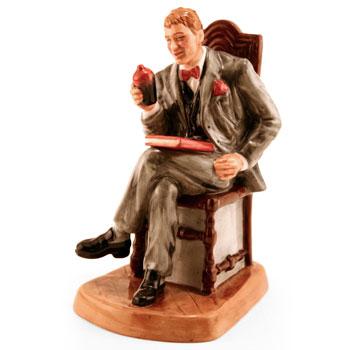 Antique Dealer HN4424 (Factory Sample) - Royal Doulton Figurine