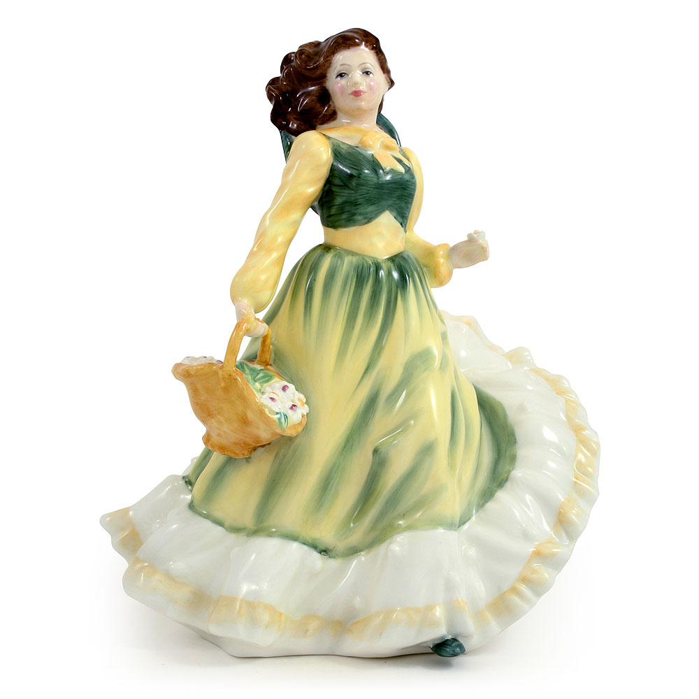 April HN3693 - Royal Doulton Figurine