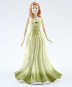August HN4977 (Peridot) - Royal Doulton Figurine