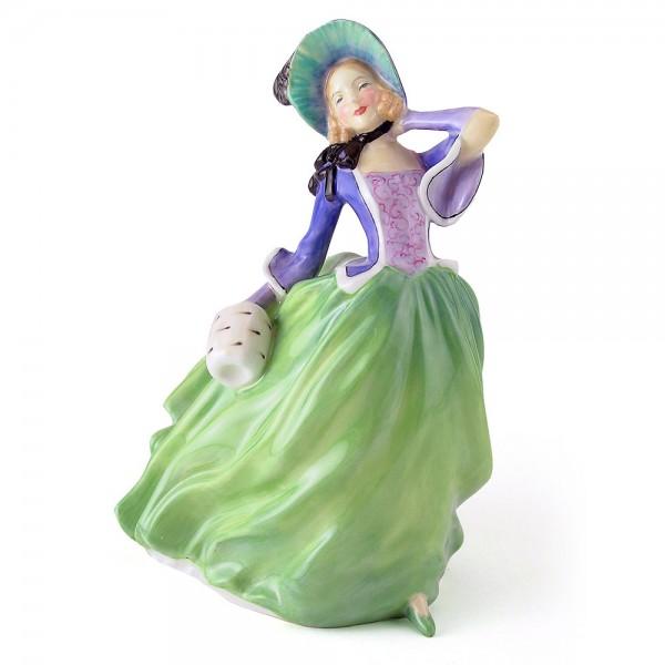 Autumn Breezes HN1913 - Royal Doulton Figurine