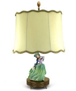 Autumn Breezes HN1913 Lamp - Royal Doulton Figurine