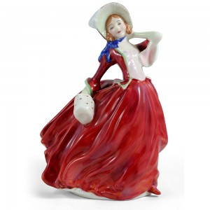 Autumn Breezes HN1934 - Royal Doulton Figurine