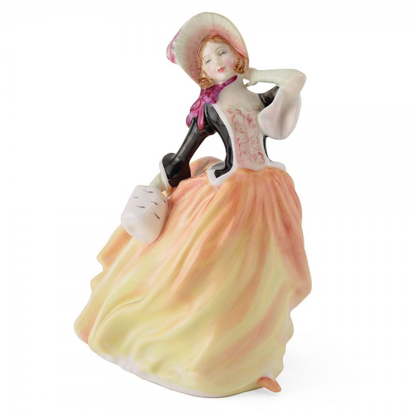Autumn Breezes HN2131 - Royal Doulton Figurine