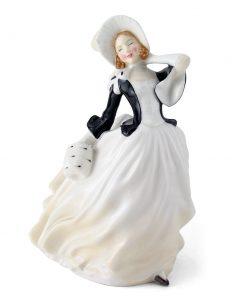 Autumn Breezes HN2147 - Royal Doulton Figurine