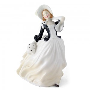 Autumn Breezes HN2147 - Royal Doulton Figurine