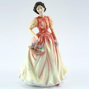 Autumn Flowers HN3918 - Royal Doulton Figurine