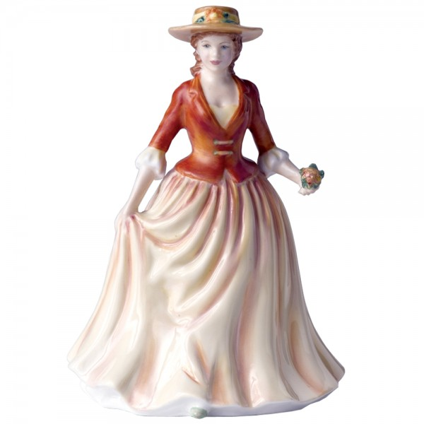 Autumn Stroll HN4588 - Royal Doulton Figurine