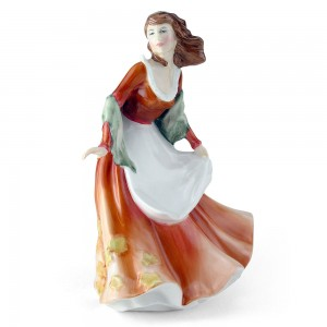 Autumntime HN3231 - Royal Doulton Figurine