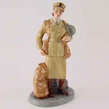 Auxiliary Territorial Service HN4495 - Royal Doulton Figurine