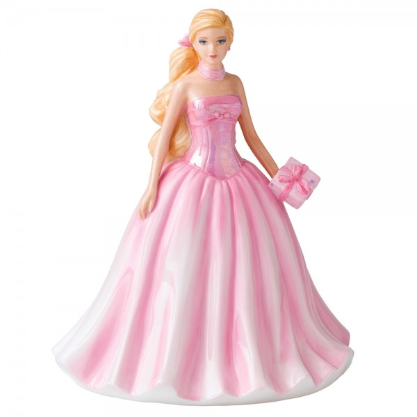 Barbie Birthday 2011 HN5532 - Royal Doulton Petite Figurine