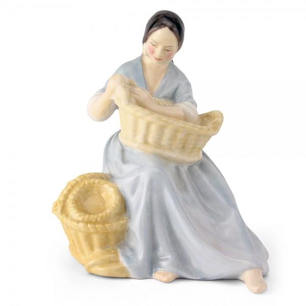 Basket Weaver HN2245 - Royal Doulton Figurine