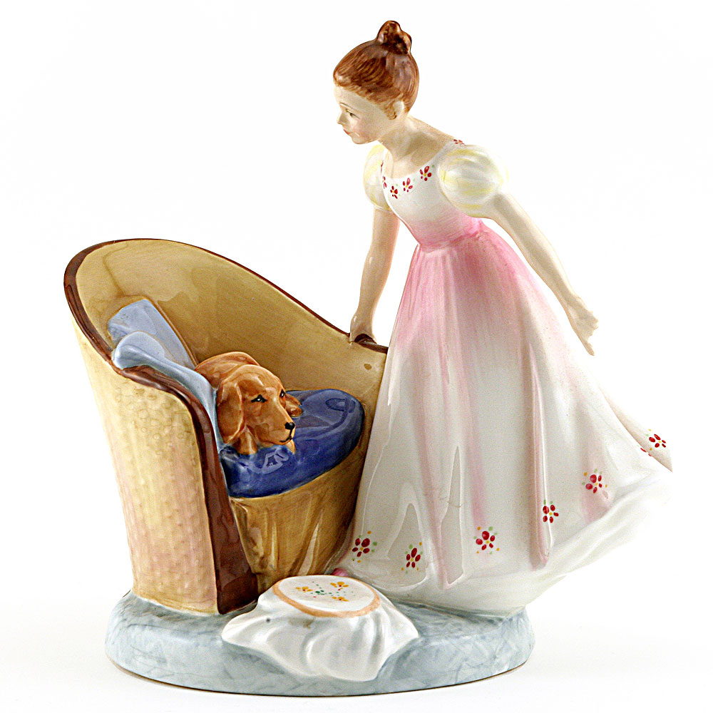Beat You To It HN2871 - Royal Doulton Figurine