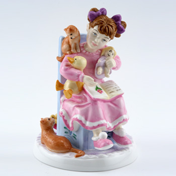 Bedtime Story CH8 - Royal Doulton Figurine
