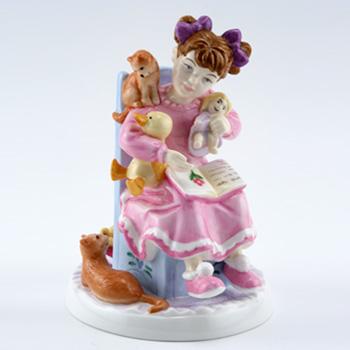 Bedtime Story CH8 - Royal Doulton Figurine